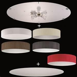 Lampenschirm 40 Cm Durchmesser : deckenleuchte aus dem baukasten 75 cm durchmesser deckenplatte stoff lampenschirm ~ Bigdaddyawards.com Haus und Dekorationen