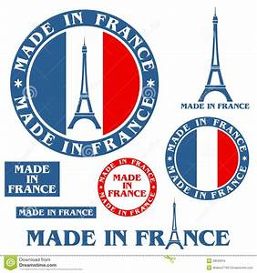 Made In France Stock Vector  Image Of Vintage  Tower