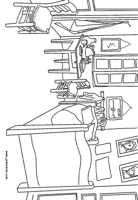 chambre de gogh clean childrens room free coloring pages