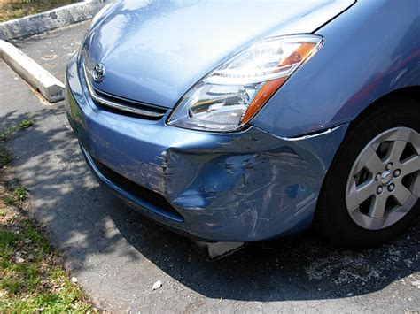 Toyota Prius Body Damage, Size