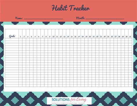 habit tracker habit tracker solutions for living