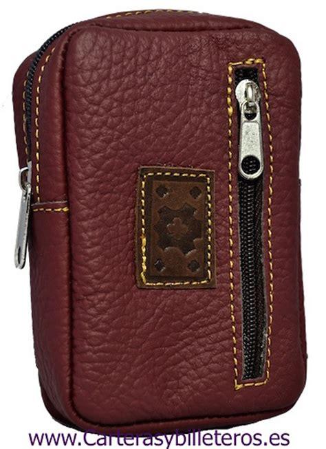 basic leather cigarette case  front pocket