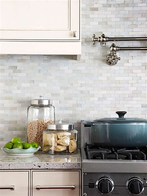 Neutral Backsplash   Better Homes & Gardens