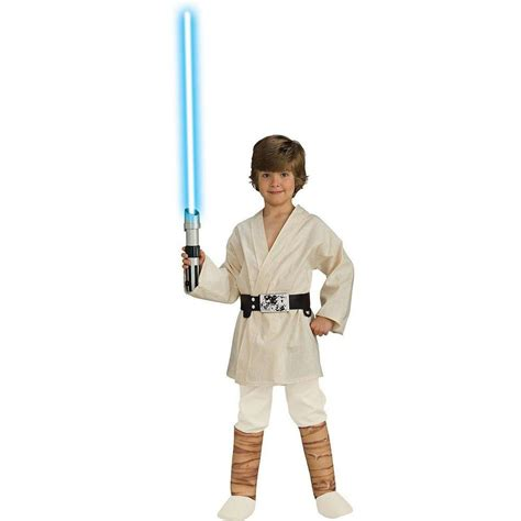luke skywalker kostüm rubie s costumes wars deluxe luke skywalker child costume r883162 s the home depot