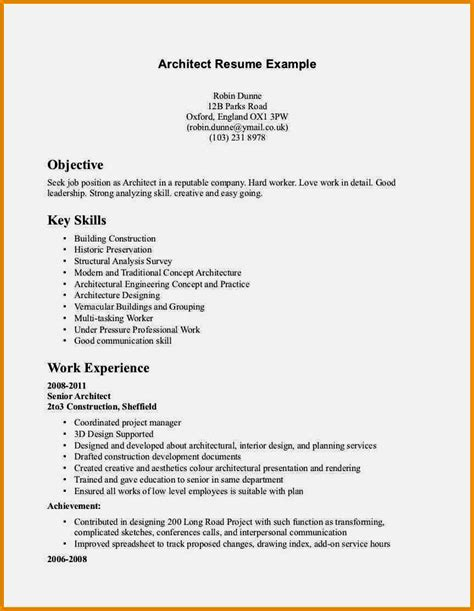 types  resumes resume template cover letter