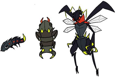 bug/electric firefly fakemon by ramonzinger on DeviantArt