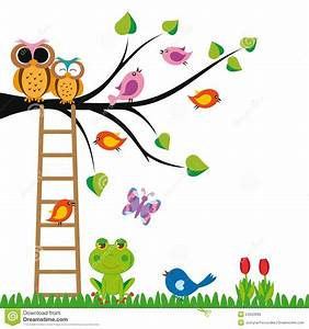 Funny kids background stock illustration. Image of cute ...