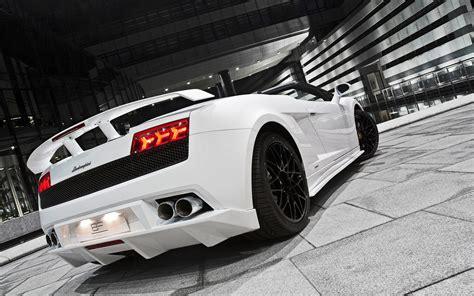 White Lamborghini Gallardo Car Hd Wallpapers