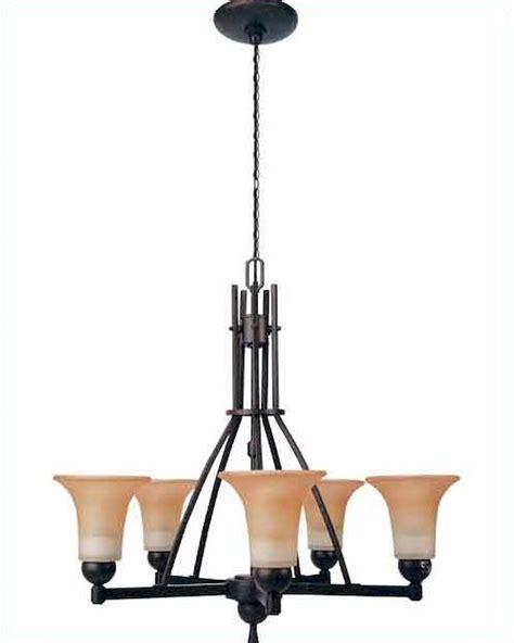 antique glass ls electric lite source 5 lite ceiling l w antique bronze amber