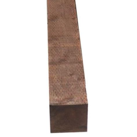 pressure treated deck boards home depot pressure treated timber hf brown stain common 4 in x 6