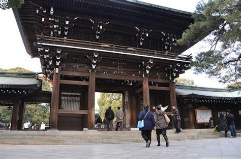 kuil meiji jingu  shibuya info liburan  wisata