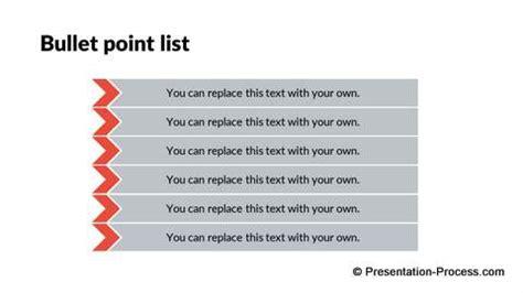 flat design templates powerpoint list
