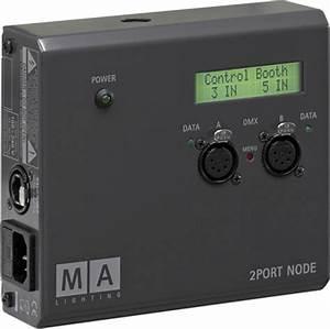 Grandma 2port Node : 2port node onpc ma lighting 2port node onpc audiofanzine ~ Frokenaadalensverden.com Haus und Dekorationen