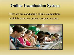 Online Examination System In Php