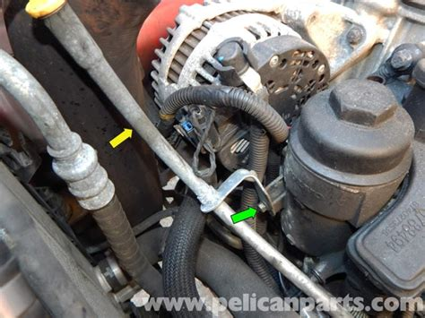 volvo  oil filter housing replacement