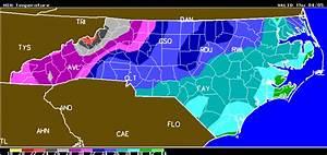 North Carolina Frost Freeze Forecast Produced Wed