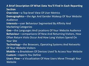 What Is Google Analytics Audience Report