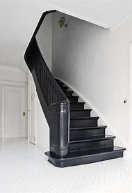 Black Painted Stairs