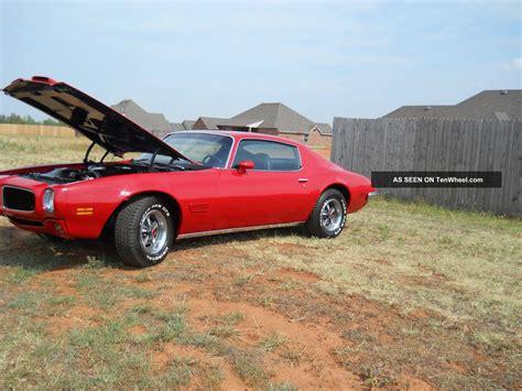 1971 455 Pontiac Firebird Formula 4 Sp