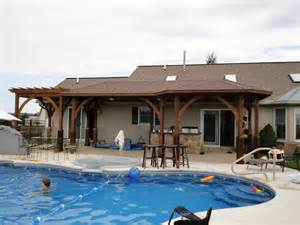 Stunning House Pools Design Ideas by Pool House Designs With Stunning Exterior Space Traba Homes