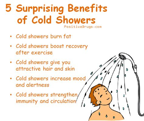 Benefits Of Cold Showers by 5 Surprising Benefits Of Cold Showers Http