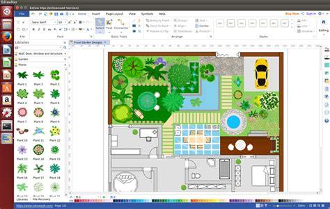 garden design software  linux design  dreaming garden