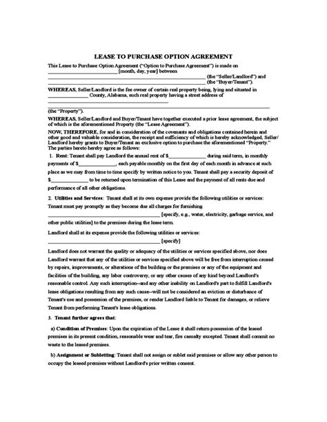 rent   agreement template