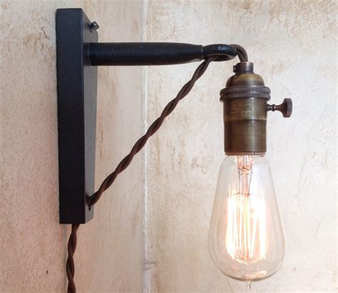 hanging pendant wall sconce retro edison by ironcladindustrial