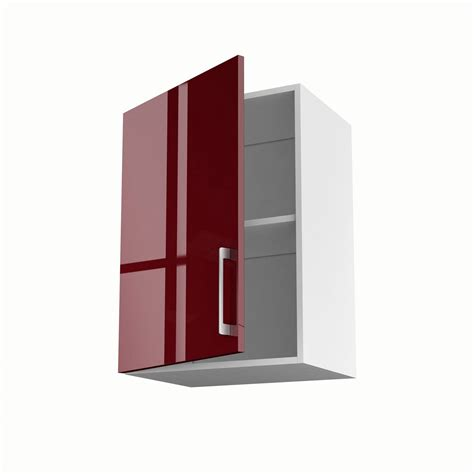porte meuble de cuisine meuble de cuisine haut 1 porte griotte h 70 x l 50 x p 35 cm leroy merlin