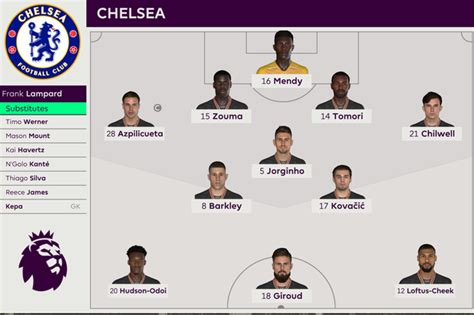 We simulated Tottenham vs Chelsea to get a score ...