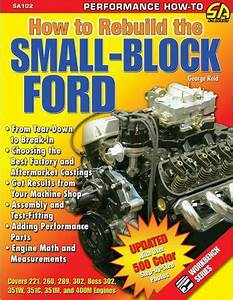 Rebuild Ford 351w  302  289  260  221 Engine Book Manual