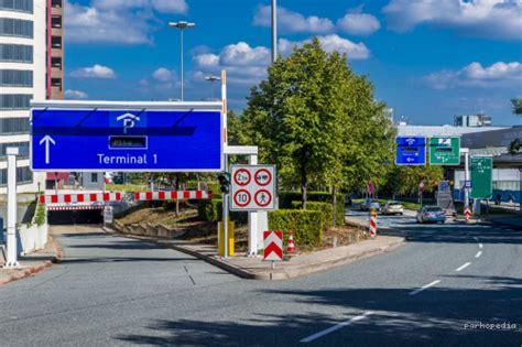 flughafen frankfurt terminal  p parkplatz