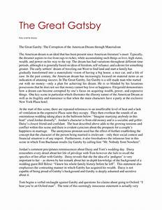 College Vs High School Essay Compare And Contrast American Dream And Great Gatsby Essays The Importance Of English Essay also Business Essays Samples American Dream In The Great Gatsby Essay Popular Persuasive Essay  Examples Of Essay Proposals