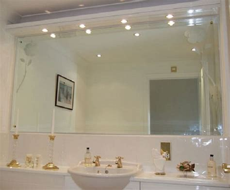bathroom wall mirror bathroom wall mirrors brushed nickel doherty house