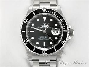 Uhr Rolex Herren : rolex uhr submariner date 16610 t stahl automatik herren ~ Kayakingforconservation.com Haus und Dekorationen