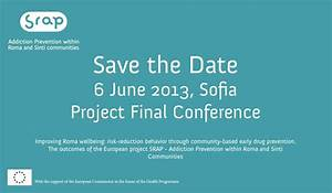 srap final conference on 6 june 2013 sofia srap projecteu With conference save the date template