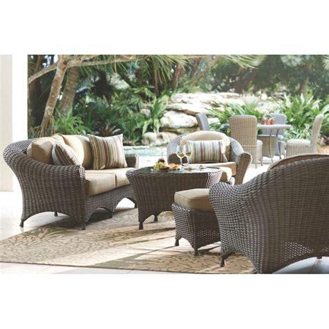 martha stewart patio furniture martha stewart living lake adela weathered gray 6