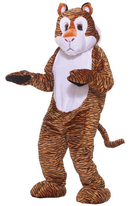 tiger deluxe mascot adult costume buycostumescom