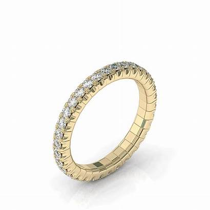 Stretch Ring Gold Rings Band Stretchable Woman