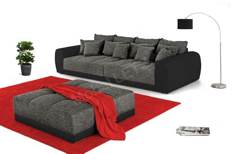 big sofa anthrazit jockenh 246 fer big sofa samy in grau schwarz m 246 bel letz