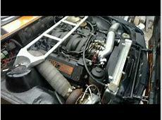 The original BMW M62b44 turbo E30 Winter Cold Start