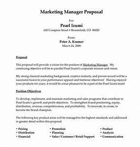 12 sample job proposal templates sample templates With writing a proposal for a new position template