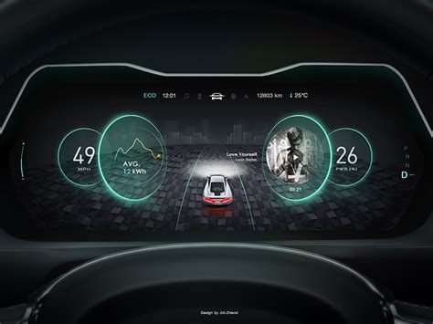 Digital Dashboard Cars by New Design In Car Dashboard No 3 Car Hmi Dashboard Car