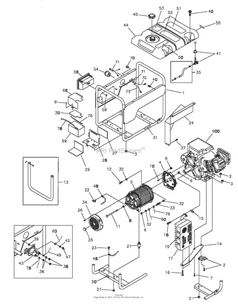 briggs and stratton power products 030298 0 580 325650 5 600 watt craftsman parts diagram for