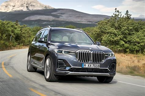 bmw x7 suv review summary parkers