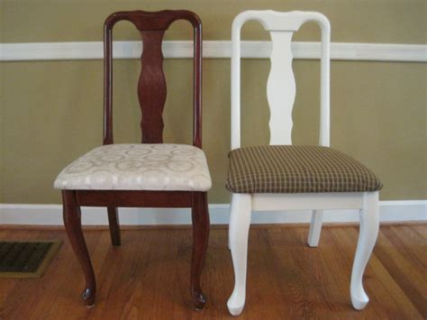 dining room chair redo recovering  seat cushion
