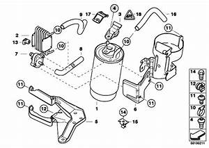 Original Parts For E46 330d M57 Touring    Fuel Preparation
