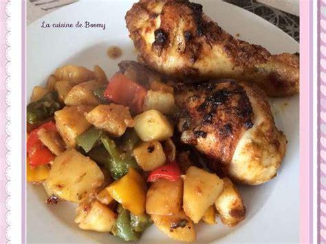 cuisiner des pilons de poulet recettes de pilons de poulet et poivrons