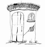 Hillbilly Clipart Rustic Primitive Drawings Shacks Copy Own Clip Read Respect Artist Please Right These Outhouse sketch template