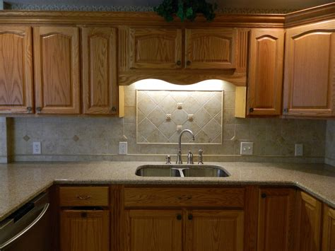 Kitchen Backsplash Pictures With Oak Cabinets by Kitchen Kitchen Countertop Cabinet Innovative Kitchen